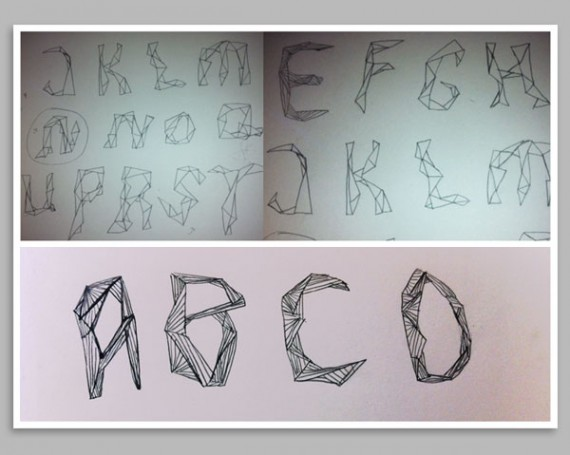Organisk fontdesign