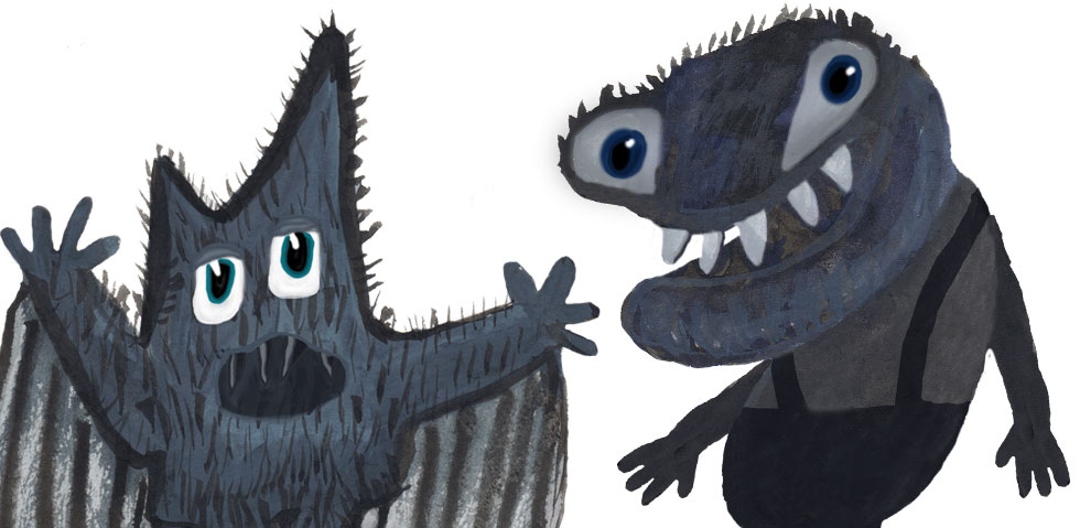 Monster Illustrationer