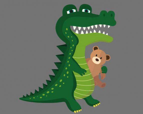 Dyrebilleder til børn